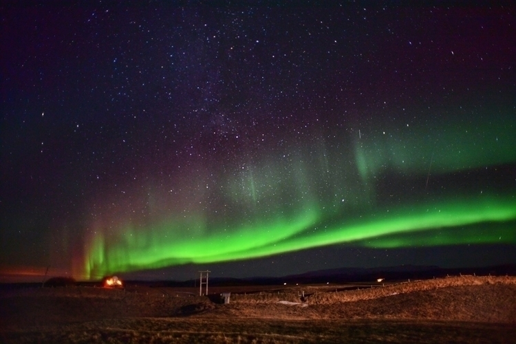 Chasing Aurora - aurora, iceland - grants720 | ello