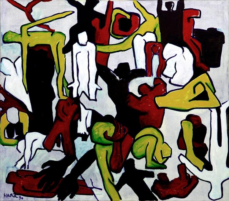 Deutsches Painting Acryl Canvas - reinhard-8034 | ello