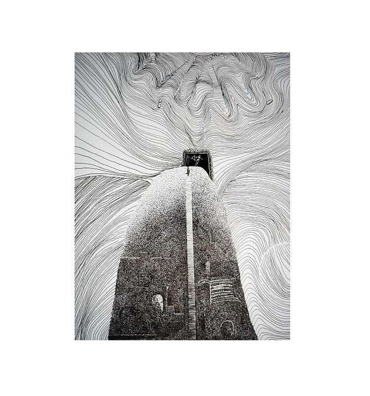 LinepieceDotwork Ink Paper apx - pastusiak | ello