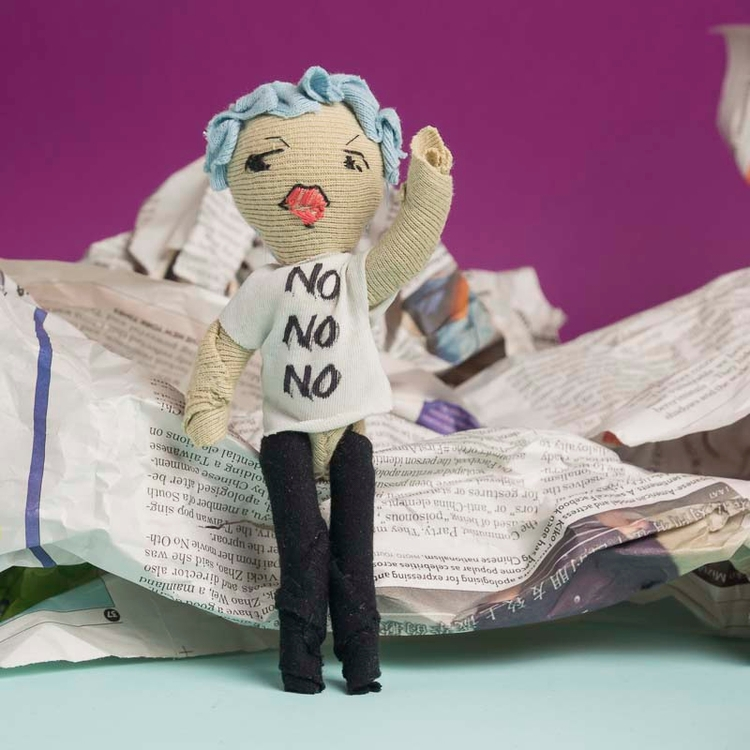 protest, resist, girlpower, textile - noisybeak | ello