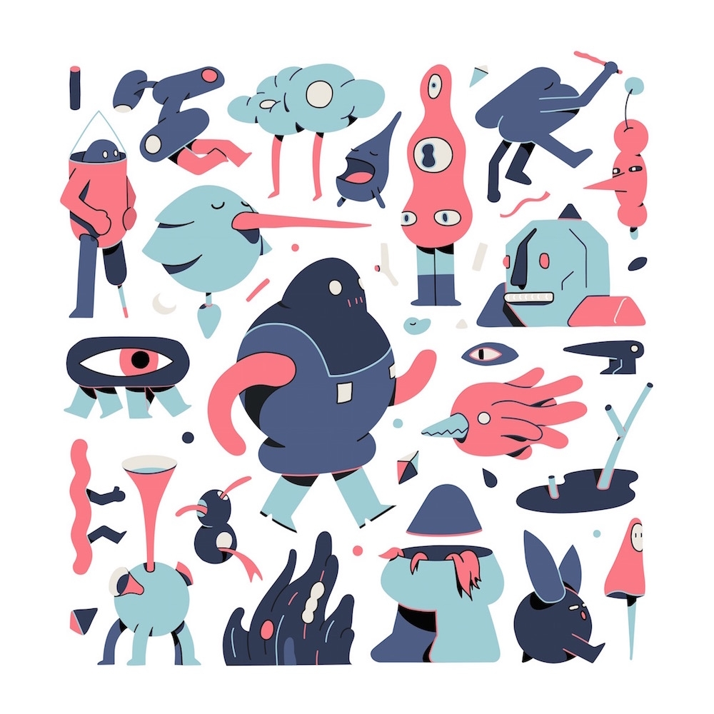 Unusual dudes - illustration, characterdesign - jorenpeters | ello