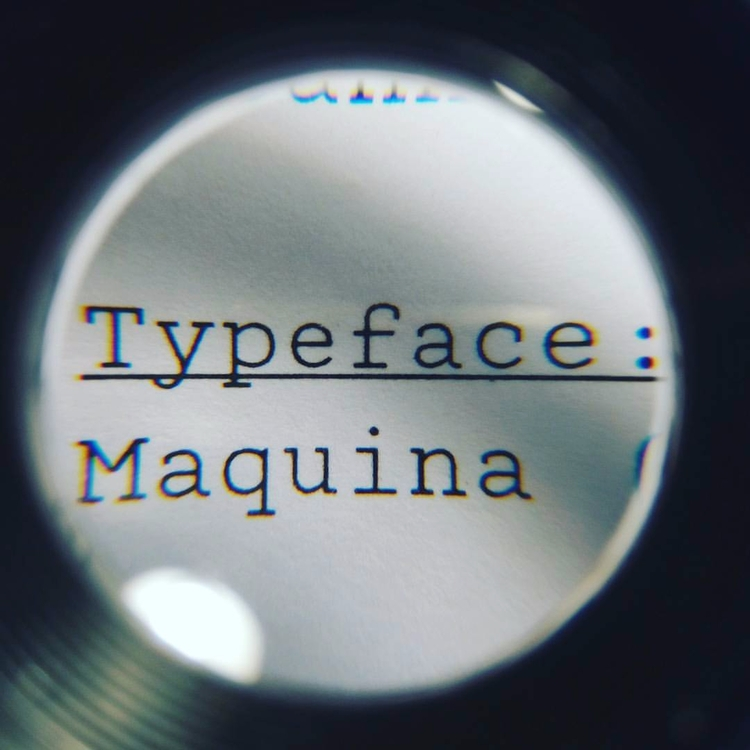 Proofreading - maquina, monospaced - scannerlicker | ello