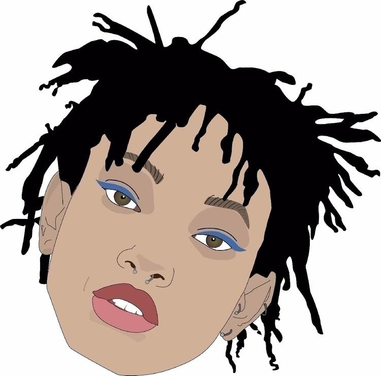 vector portrait Willow Smith - axregehr   ello
