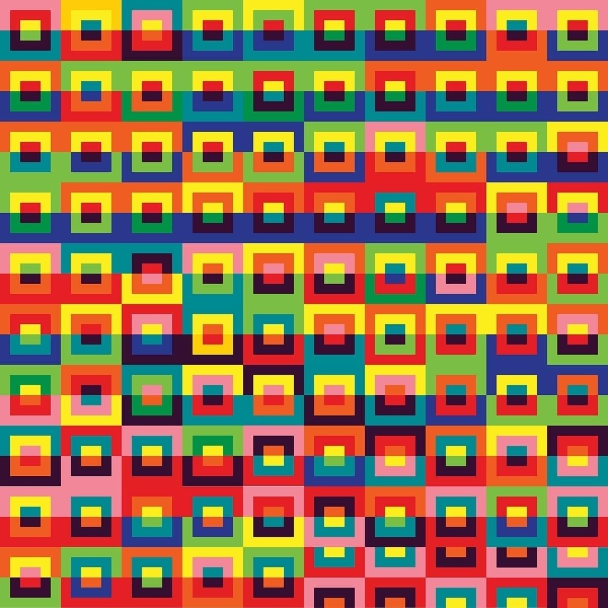 100 studies  - PixelPainting, HardEdge - andrew_faris | ello