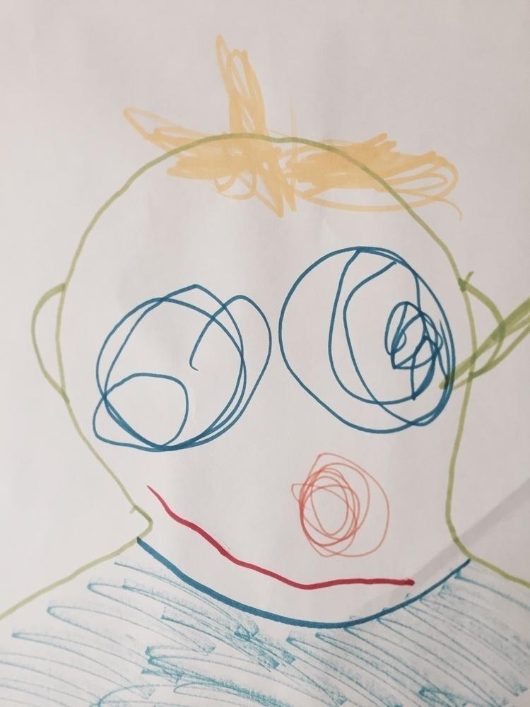 Faces1 - art, face - maccino | ello