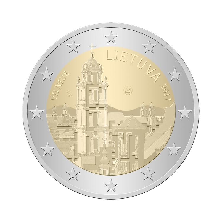 2017, Lithuania issue 2 euro co - vladasorze | ello