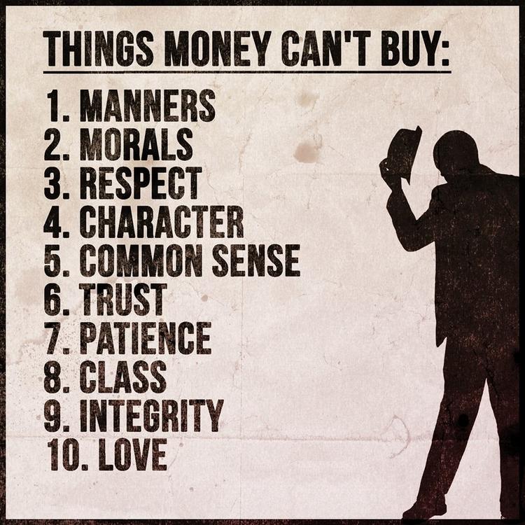 Top 10 list money buy - besomebody - esquirephotography   ello