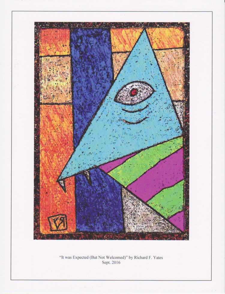 ART PRINT - Expected Welcomed)  - richardfyates   ello