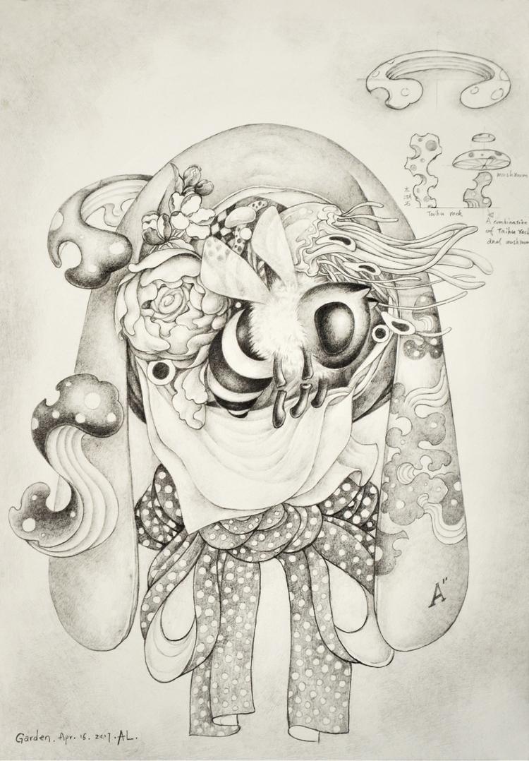 Sketch garden - drawing, sketchbook - alice_lin | ello