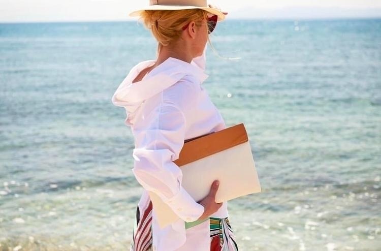 clutch bag, time Erikoussa isla - saltybag | ello