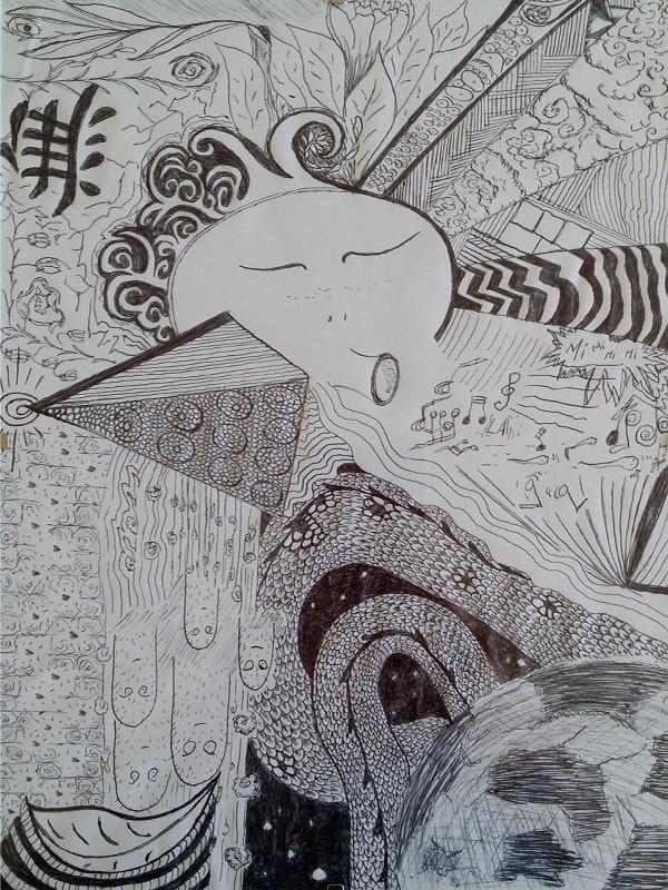 drawing, doodle - chloecelesse | ello