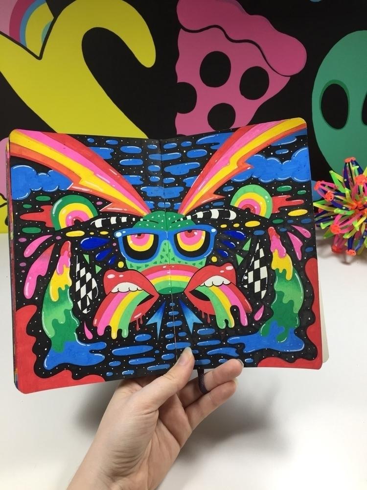 Moleskine, sketchbook, art, artist - ms_wearer | ello