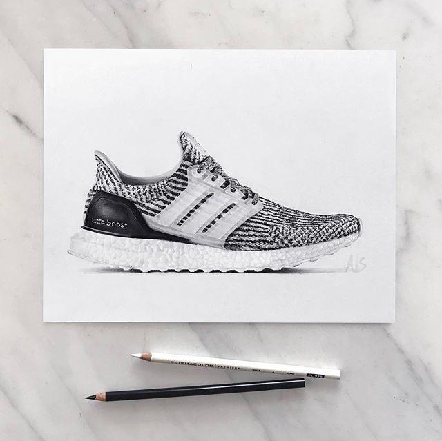 Work Alex Short - sketching, adidas - letsdesigndaily   ello
