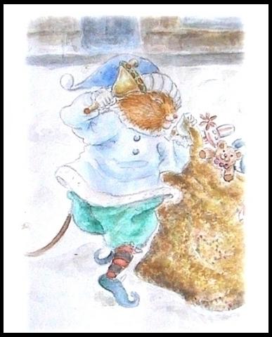 Christmas coming draw waterclou - mwchau | ello