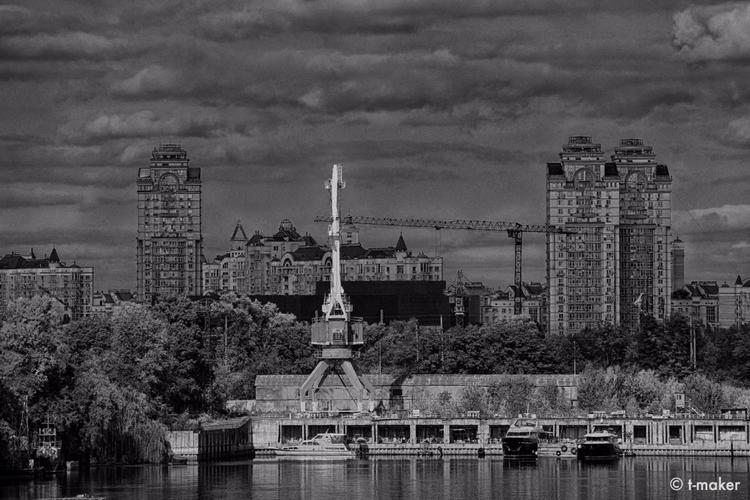 View Docks | Flickr - river, Dnieper - t-maker | ello