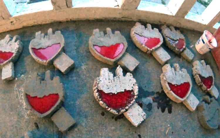 City Heart Cast Garden Stones C - csstanley | ello