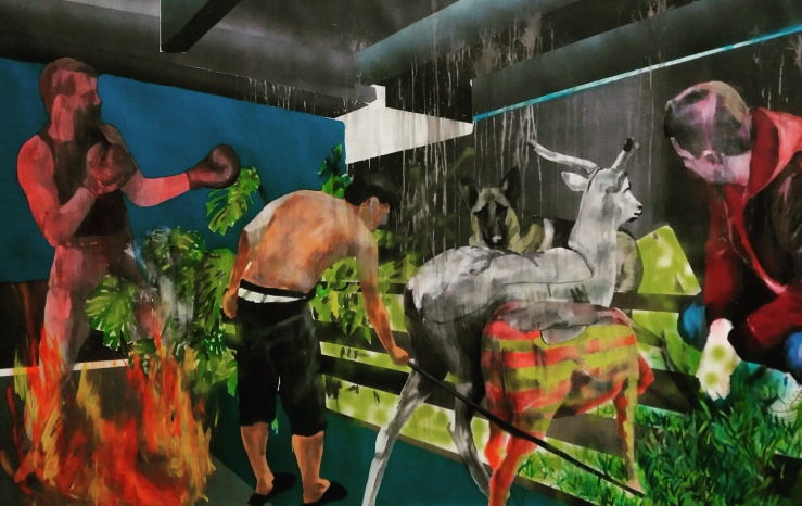 140×210 cm,oil, acrylic canvas  - ion_marian | ello