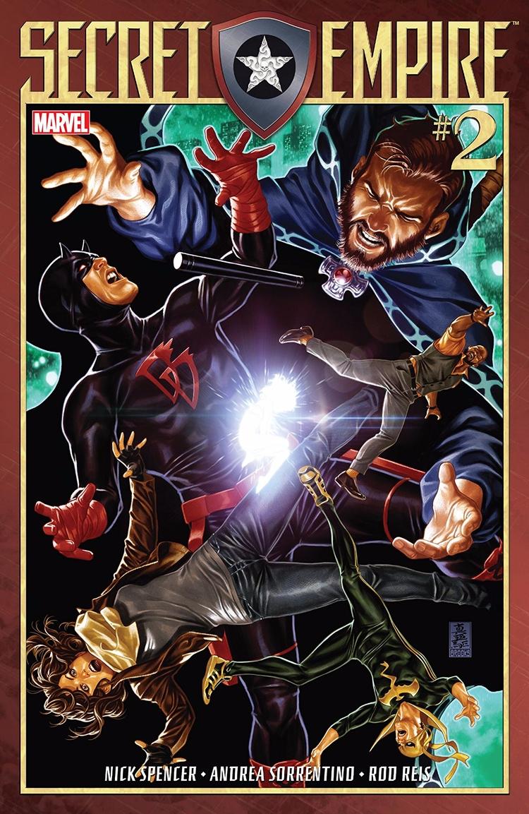 Secret Empire Marvel Comics 201 - oosteven | ello