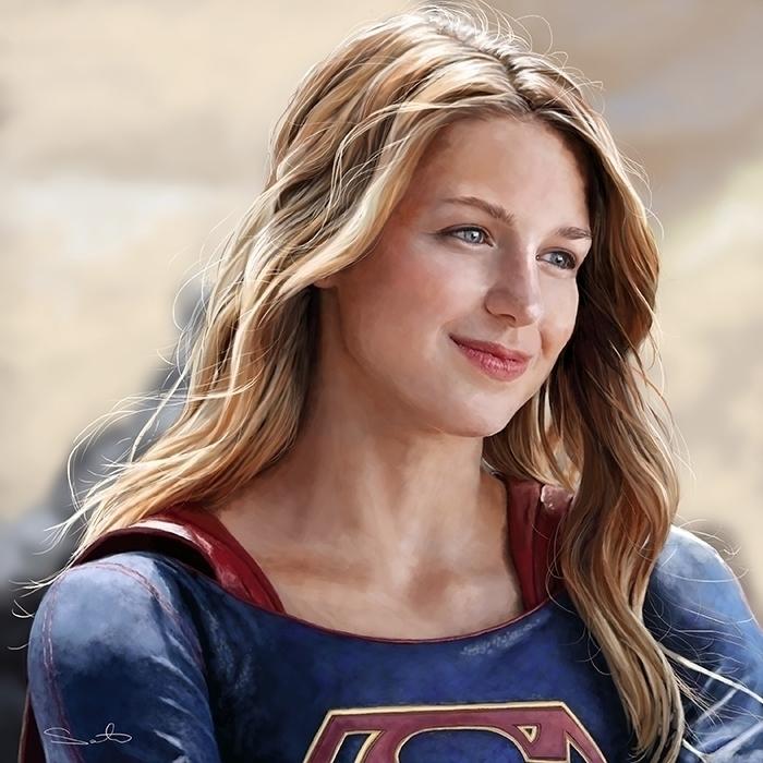 supergirl - samanthadoodles | ello