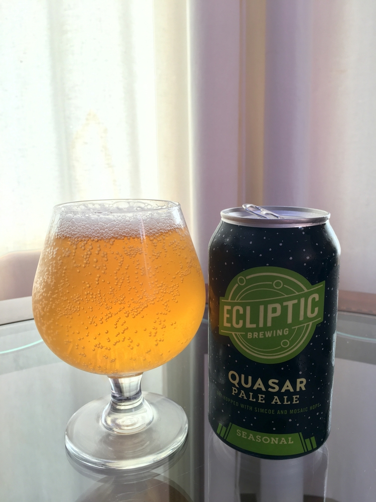 beer expedition. Quasar Pale Al - ellobrew | ello