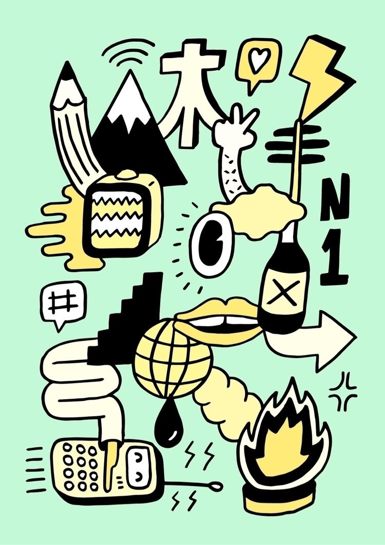 illustration, artwork, drawing - douglascavanna | ello