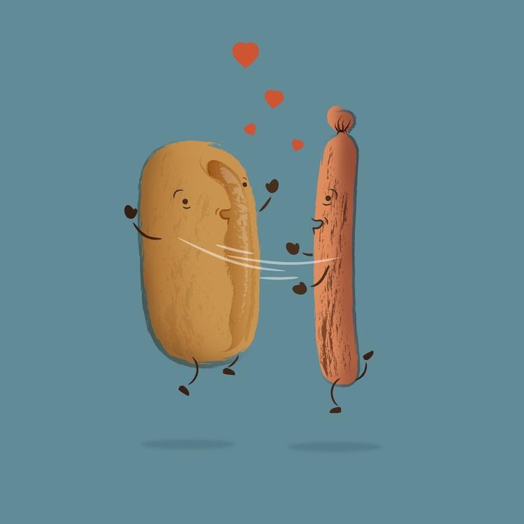 Hot Dog - 36 days type - iampommes | ello