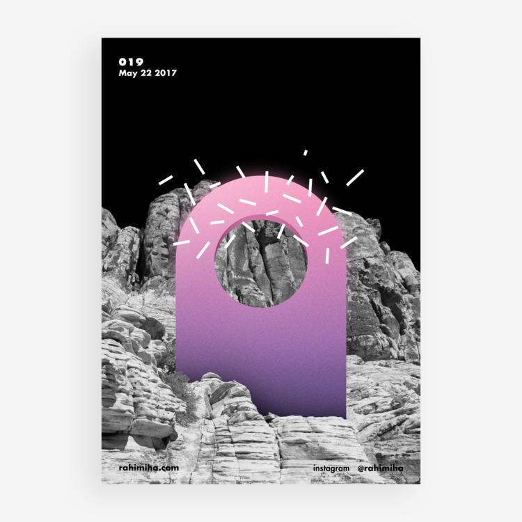 Day 019 Nima Rahimiha - poster  - rahimiha | ello