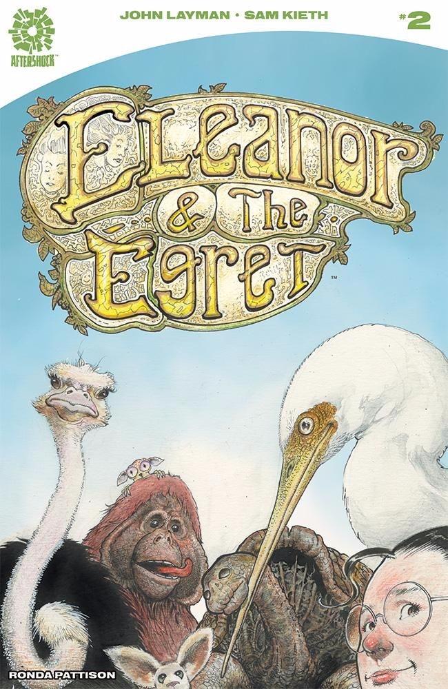 Eleanor Egret Aftershock Comics - oosteven | ello