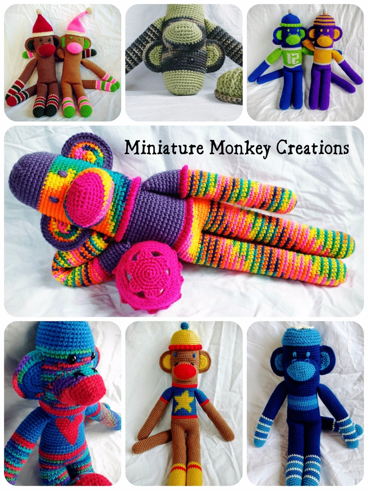 Happy looked shop thought, monk - miniaturemonkeycreations | ello