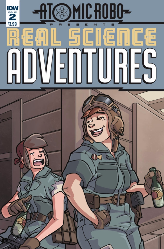Real Science Adventures IDW Pub - oosteven | ello