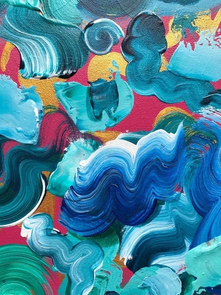 'Convergent' detail - art, abstract - dhuston | ello