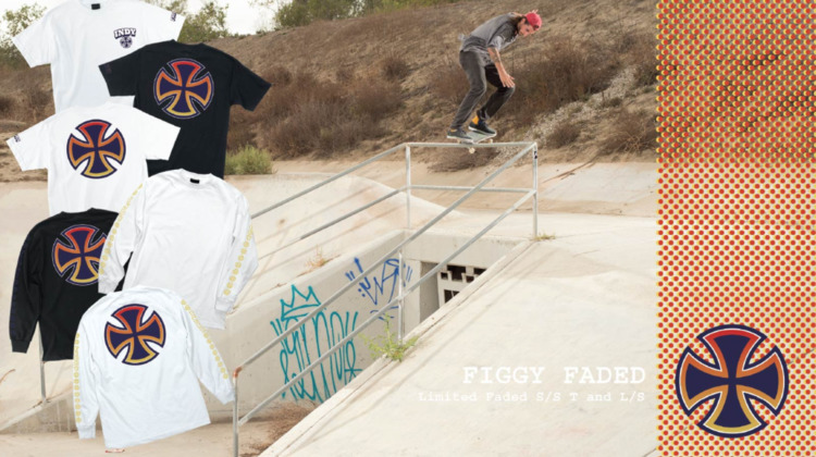 Justin Figgy FADED Collection  - independenttrucks | ello