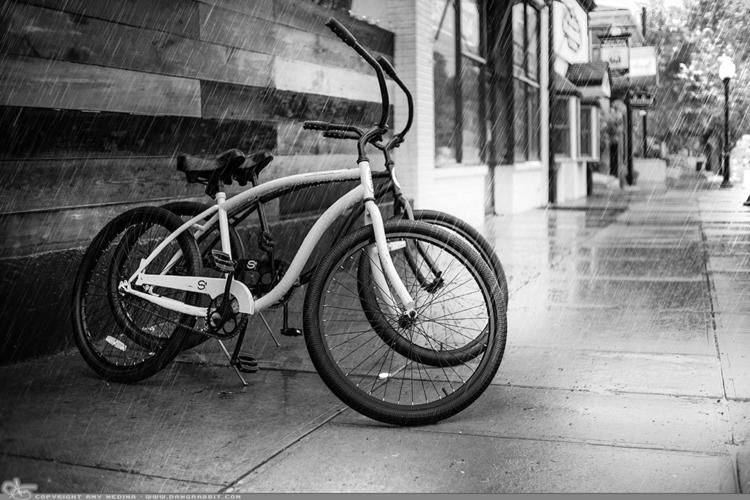 Bikes (PAD Roadside rainy day.  - dangrabbit-photography   ello