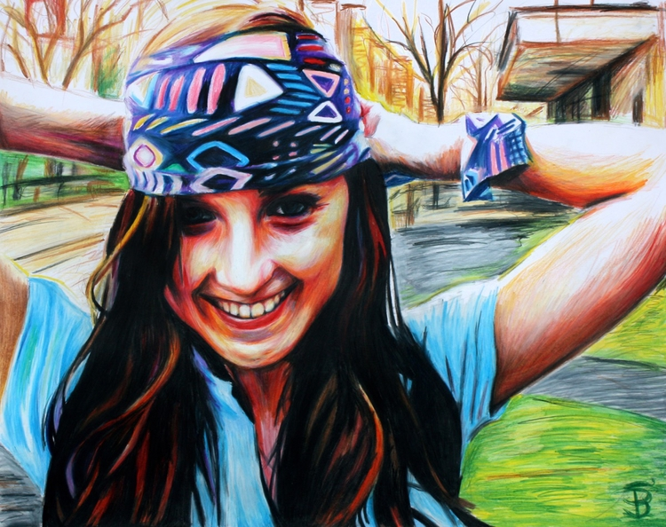 Rebecca (colored pencil drawing - skyler_brown_portraits | ello