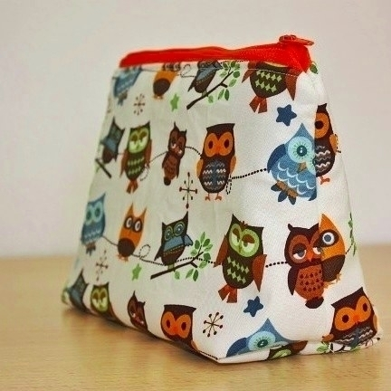 sewed pouch, houses project sum - kerook | ello