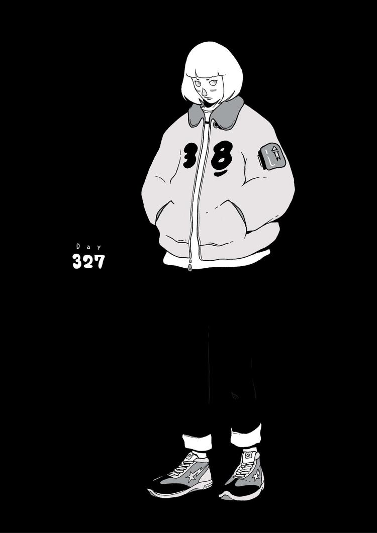 Day 327/365: Night Walk - illustration - 1sles | ello