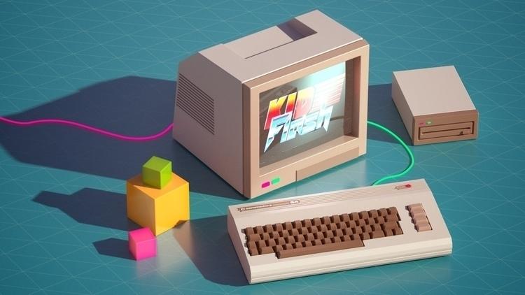 C64 - ... starting retro projec - mostyle   ello