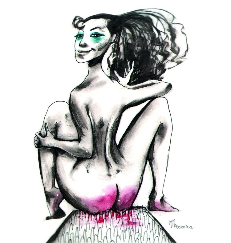 calls - graphic, illustration, contemporary - mirosedina | ello