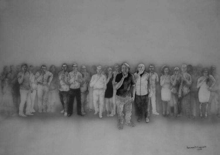 LOST CONSTRUCTION III 100 70 cm - aleksandarvbrankovic | ello