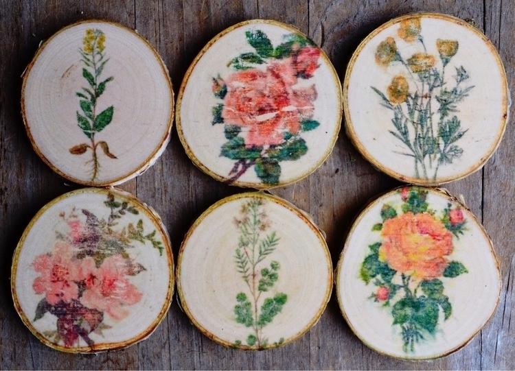 making wooden flower beauties t - sacraluna | ello