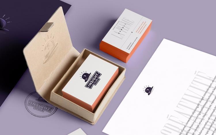 Insight Club designed branding  - paykhan | ello