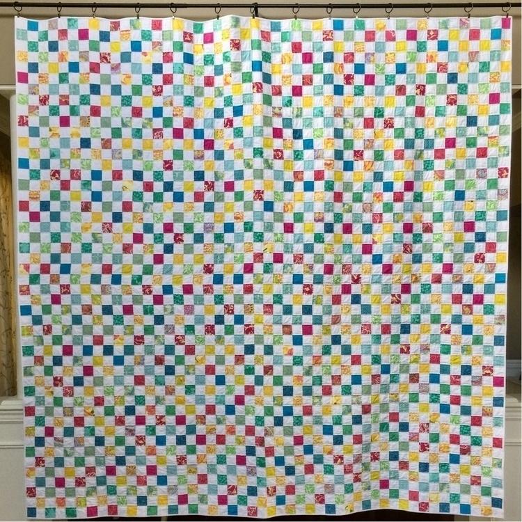 checkerboard postage stamp quil - tiennie | ello
