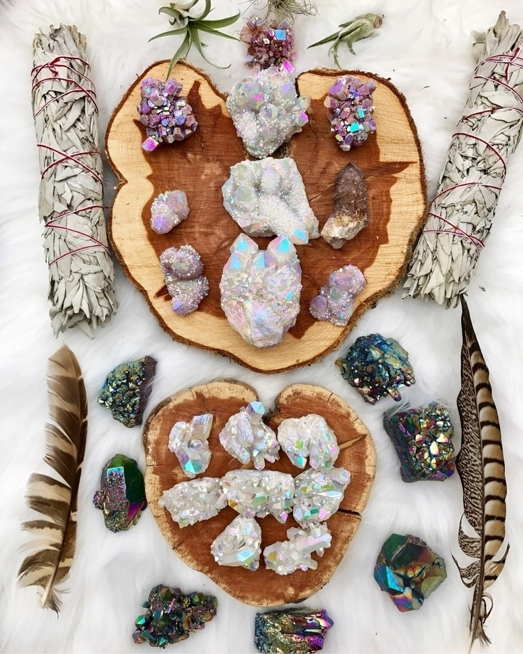 auracrystals, crystals, rocks - wingostarrjewelry | ello