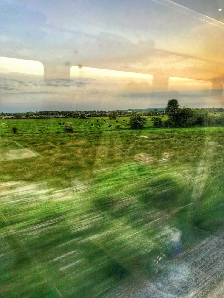 View train - ireland, travel - paulbines   ello