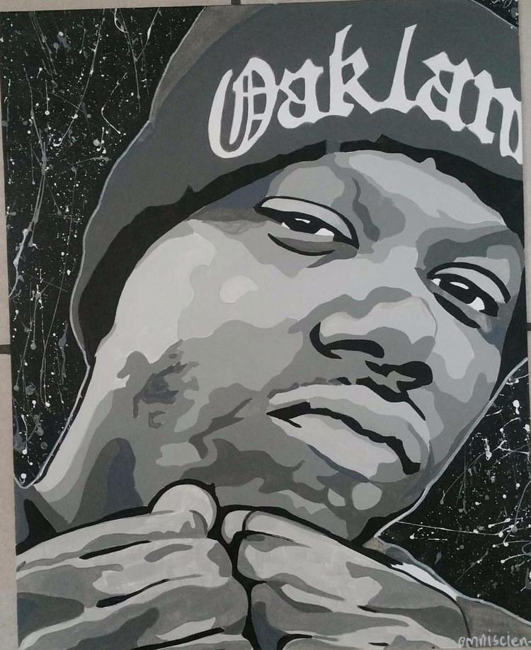 short acrylic canvas - omni_art | ello