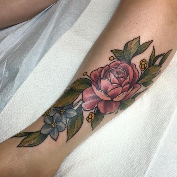 floraltattoo, rose, rosetattoo - blaynebius | ello