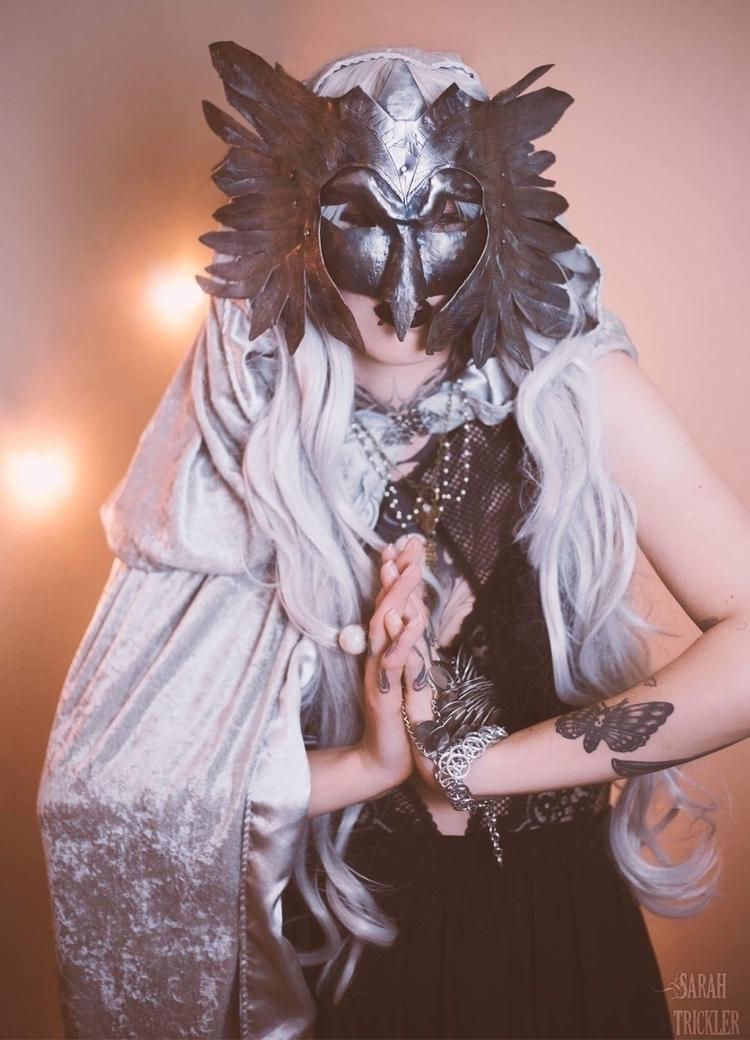 Angel Valhalla- mask fashioned  - blueringironworks | ello