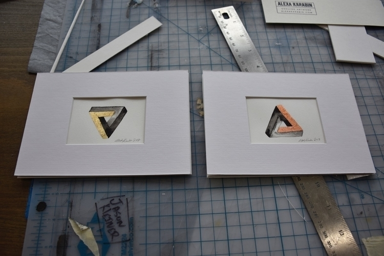 couple Penrose triangles series - alexakarabin | ello