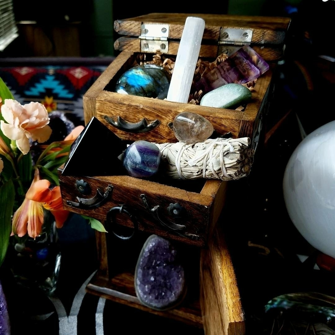 Crystal box shop?! filled goodi - sacreddivination | ello