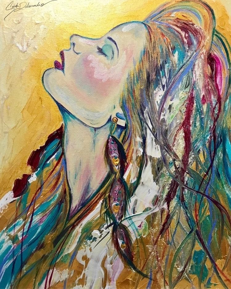 Sun-Drenched Acrylic canvas 16x - sarahdalesandroart | ello